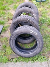 4 snow tires 205 55 16 3 have 80% thread want to have 70% tread Surrey, V3W 1S5