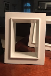 3 Picture frame shelf type shadow display boxes