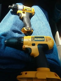 yellow and black DeWalt cordless power drill Kuna, 83634