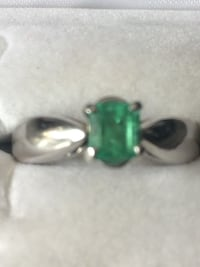 Genuine Emerald set in 14 k white gold. The holidays are coming ;)) New Tecumseth, L0G 1A0