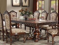 Dining table set 9 pcs Victorville, 92395