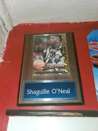 Autographed Shaquille o'neal  rookie card Haymarket, 20169