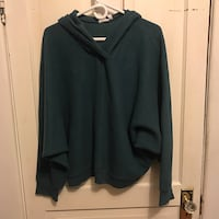 green pullover hoodie Kingston, K7K 4M1