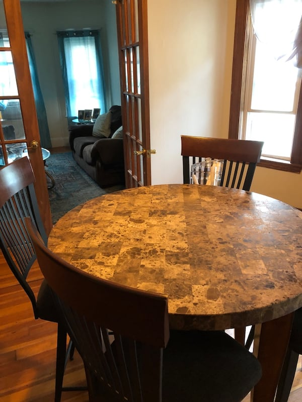 Dining table and chairs $125 obo 1