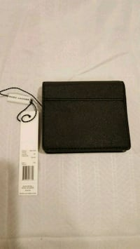 Marc Jacobs  M001168 Saffiano Black Leather Wallet Herndon, 20170
