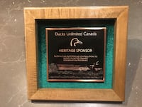 Ducks Unlimited Canada Sponsor recognition bronze plaque null, K0A 3H0