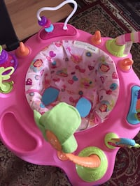 baby's pink and green exersaucer Falls Church, 22042