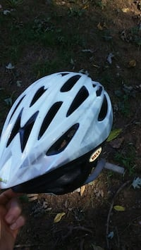 white and black bicycle helmet Alexandria, 22315
