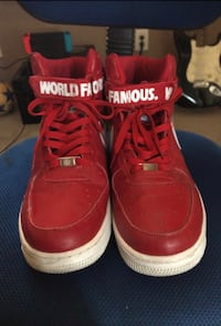 Nike Air Force 1 (Supreme World Famous) Size 11