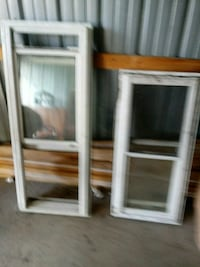two white wooden framed glass windows 346 mi