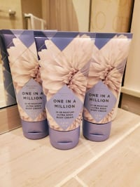 3 New Bath and Bath Works One in A Million Travel