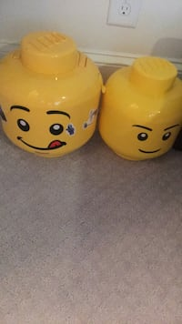 Two LEGO Storage containers  Sandy Springs, 30342