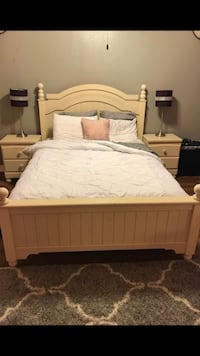 5 Piece Bedroom furniture set+ free queen mattress and 2 lamps  Plano, 75074