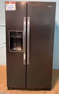 Whirlpool *New* side by side refrigerator