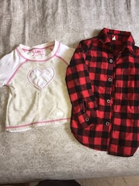 Toddler fall shirts 2T Montgomery Village, 20886