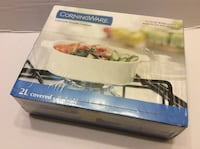 Corningware Pyroceram Casserole with Glass Cover (New sealed in box)