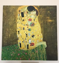 "Painting - reproduction of ""The Kiss"" by Gustav Klimt Arlington, 22209"