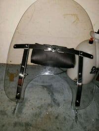 Harley Davidson windshield and bag. Call 578 0115 Boiling Springs, 29316