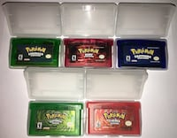 Pokemon Games for sale with protective case Barrie, L4N 5R7