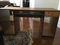 Pine wood Rectangular brown wooden table with drawer North Vancouver, V7M 1P7