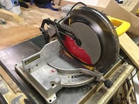Black and yellow miter saw Wilmington, 28405
