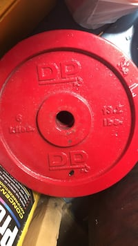 13.2 pounds red DP weight plate Winchester, 22601