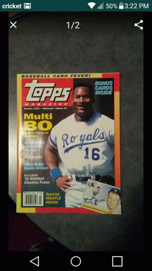 1990 Topps Magazine Summer Collectors Edition 3