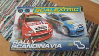 Scalextric Rally Scandinavia-boksen