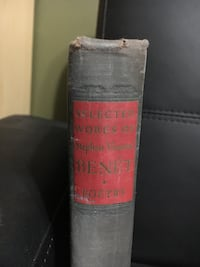 First Edition SELECTED WORKS OF STEPHEN VINCENT BENET: VOLUME ONE POETRY Springfield, 22153