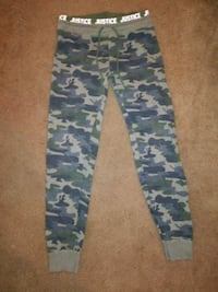 black, green, and brown camouflage pants Raytown, 64138
