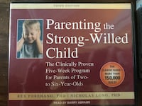 Audio book cd- parenting the strong willed child  Columbia, 21046