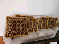 Sofa Cushions with Traditional Embroidery 5 plus 2