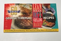 George Foreman Recipe book double sided for both lean mean grilling machine and contact roasting! Canal Winchester, 43110