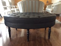 Elegant look tufted painted in black w/ light shimmer  Milton, L9T 7J4