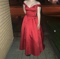 Red ball gown Toronto, M9W