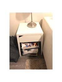 White night stand/ side table  Baltimore, 21230