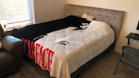 white and black bed sheet Newport News, 23606