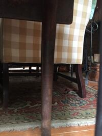 C.1740 period drop leaf table, walnut , biscuit foot! Hagerstown, 21740