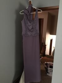 Lilac bridesmaid dress sz 10. It looks better on but unfortunately hasn't fit me in a long time 892 mi