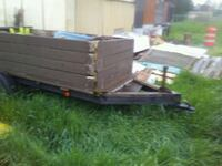brown and black utility trailer Aumsville, 97325