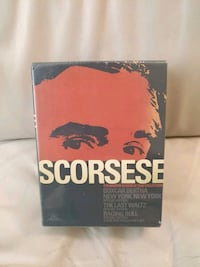 Martin Scorsese Film Collection (DVD - new/sealed)