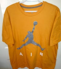 Air Jordan Metallic Silver Jumpman T Shirt Size XL London