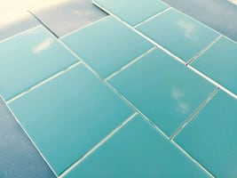 "6"" x 6""ceramic wall tile"