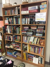 Lots of books, movies & board games!!