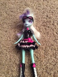 purple-and-white-haired doll Ashburn