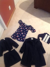 Girls dressy clothes and coat