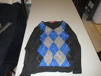 mens Black StockHolm sweater Size XL Fort Saskatchewan