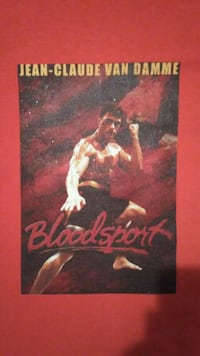Bloodsport movie t shirt .. Harker Heights, 76548