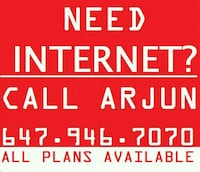 INTERNET CABLE TV PHONE BELL ROGERS  Brampton, L7A 0G1