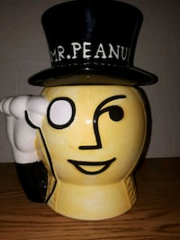 Mr. Peanut Cookie Jar  - SEE MY OTHER ITEMS